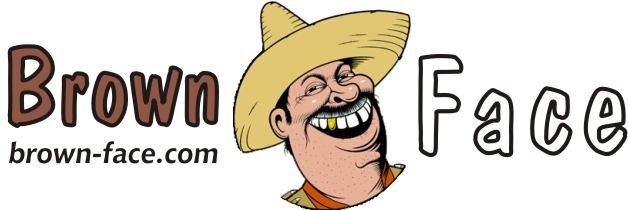 Brownface logo